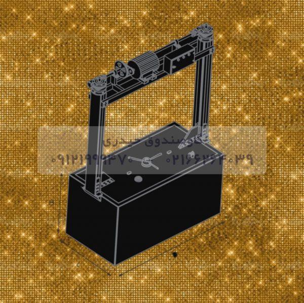 گاوصندوق آسانسوری  گنجینه مخصوص طلافروشی